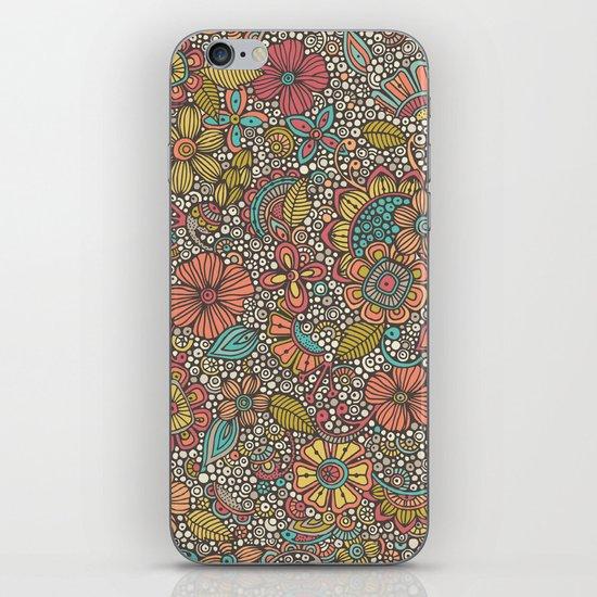 Doodles Garden iPhone & iPod Skin