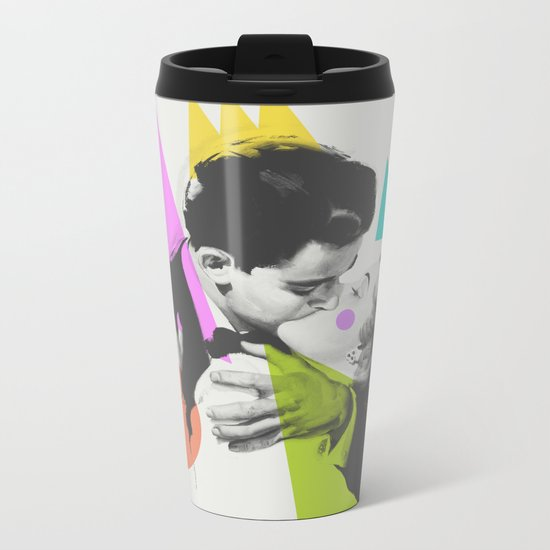Kiss Metal Travel Mug