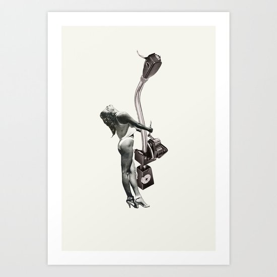 Tone Arm Temptress Art Print