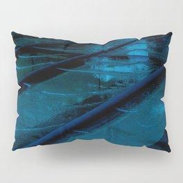 Blue Glass Waterfall Pillow Sham