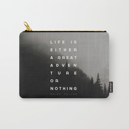 Adventure or Nothing Carry-All Pouch