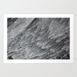 Water Falling Art Print