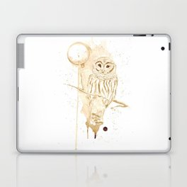 Coffee Owl Laptop & iPad Skin