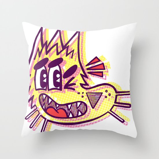 Rajado - MIA Throw Pillow