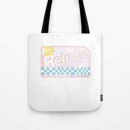 NYC RetroCard Tote Bag