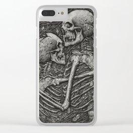 Amor Aeternus Clear iPhone Case