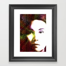 Only From Within Framed Art Print