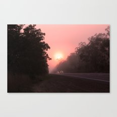A perfect spot for a break in the journey Canvas Print