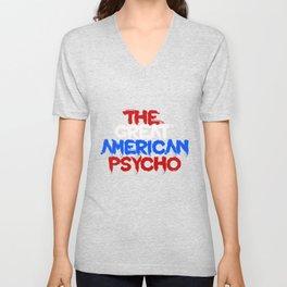 The Great American Psycho (Americana) Unisex V-Neck