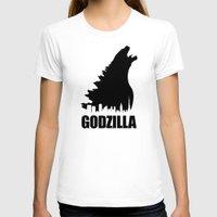 godzilla T-shirts featuring Godzilla by Nick Kemp