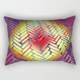 Tribal Herringbone #1 Rectangular Pillow