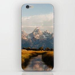 Grand Teton National Park at Sunrise iPhone Skin