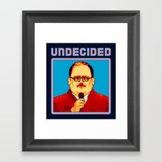 Undecided (Ken Bone) Framed Art Print