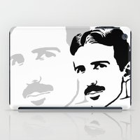 tesla iPad Cases featuring nicola tesla by b & c