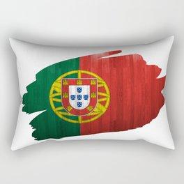A piece of the Portuguese flag Rectangular Pillow