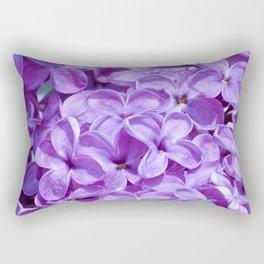 Purple Lilacs by Teresa Thompson Rectangular Pillow