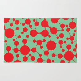 Molecule pattern Rug