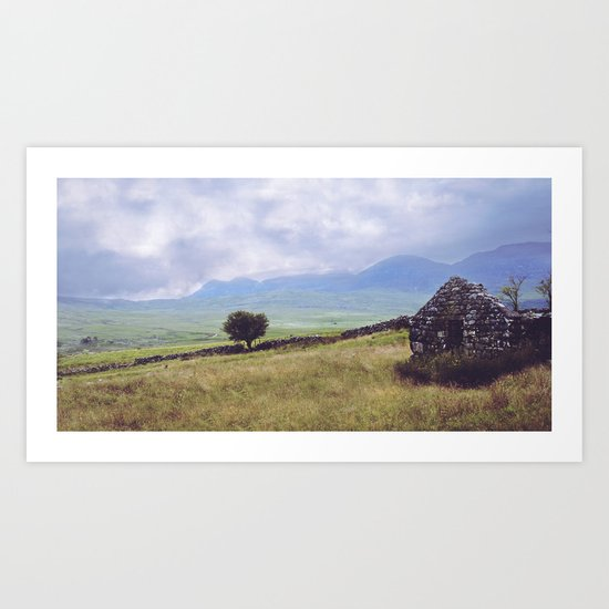 Rural Ruin Art Print