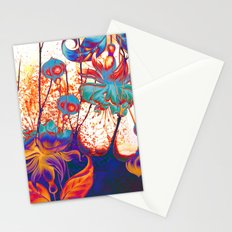 pop fuchsia Stationery Cards