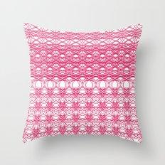 Filigree Floral Throw Pillow