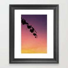 Sunset #3 Framed Art Print