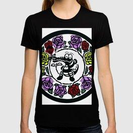 The happy little rose gator T-shirt