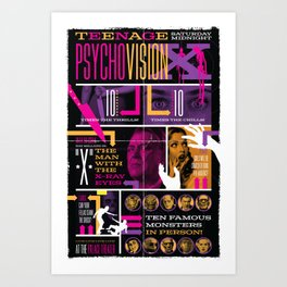 Spook Show Tribute Poster 03 Art Print