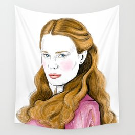 The Bride Princess Wall Tapestry