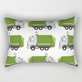 Garbage Truck Rectangular Pillow