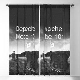 Depeche 101 Mute Promo Blackout Curtain