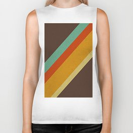 Retro 70s Color Palette Biker Tank