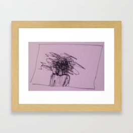 Katy Framed Art Print