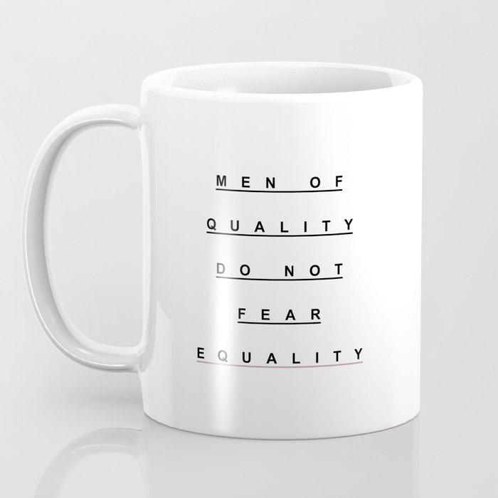 MEN OF QUALITY Coffee Mug