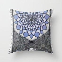 Isis dream Throw Pillow