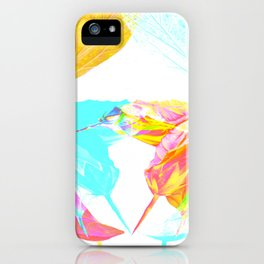 whiteout iPhone Case