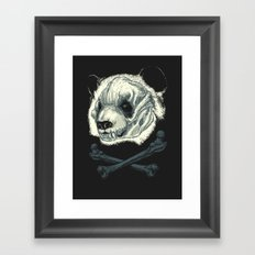Hardcore Panda! Framed Art Print