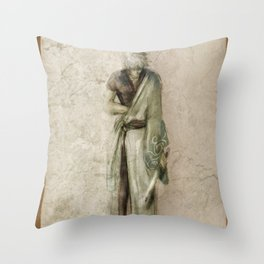 Hizamazuki Throw Pillow