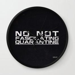 Quarantine Wall Clock
