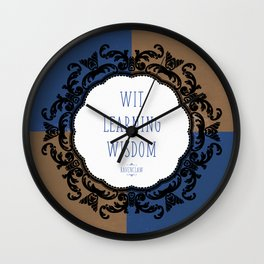 Ravenclaw Pride Wall Clock