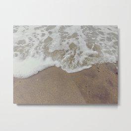 Beach Fog Metal Print