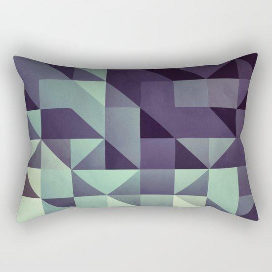 :: geometric maze :: Rectangular Pillow