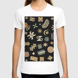African Adinkra Symbols T-shirt