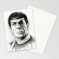 Spock Stationery Cards
