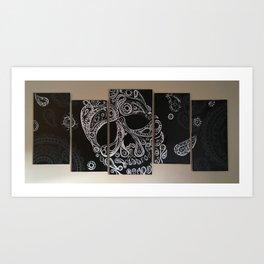 Skullsz Art Print