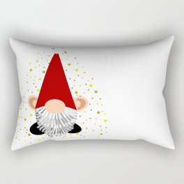 Santa - Gnome Rectangular Pillow