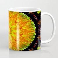 Citrus Slice Kaleidoscope Mug