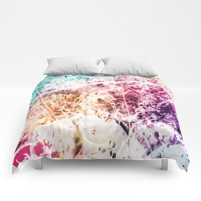 Marbled Trees Comforters