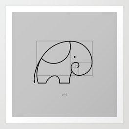 Phi Art Print
