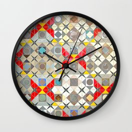 Detroit People Mover Art Broadway Fort and Cass Wall Clock