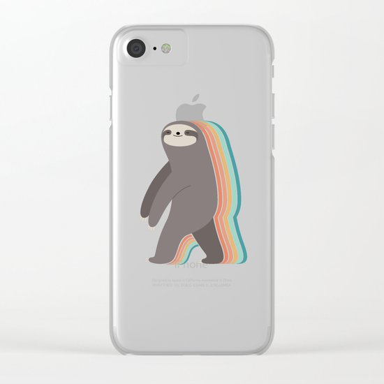 Sleepwalker Clear iPhone Case